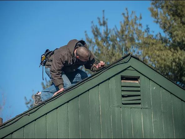 land made roof inspection